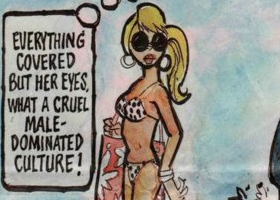 A male dominated cruel culture what